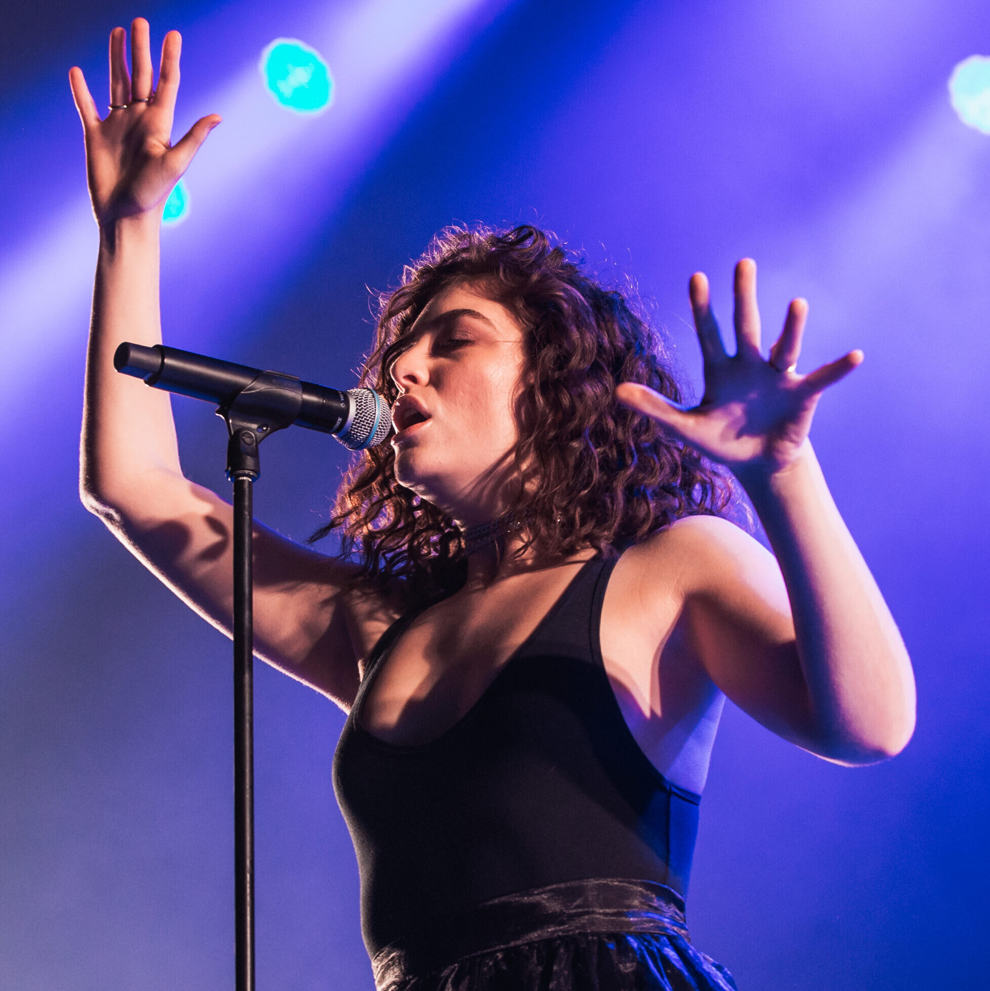 Lorde on Stage