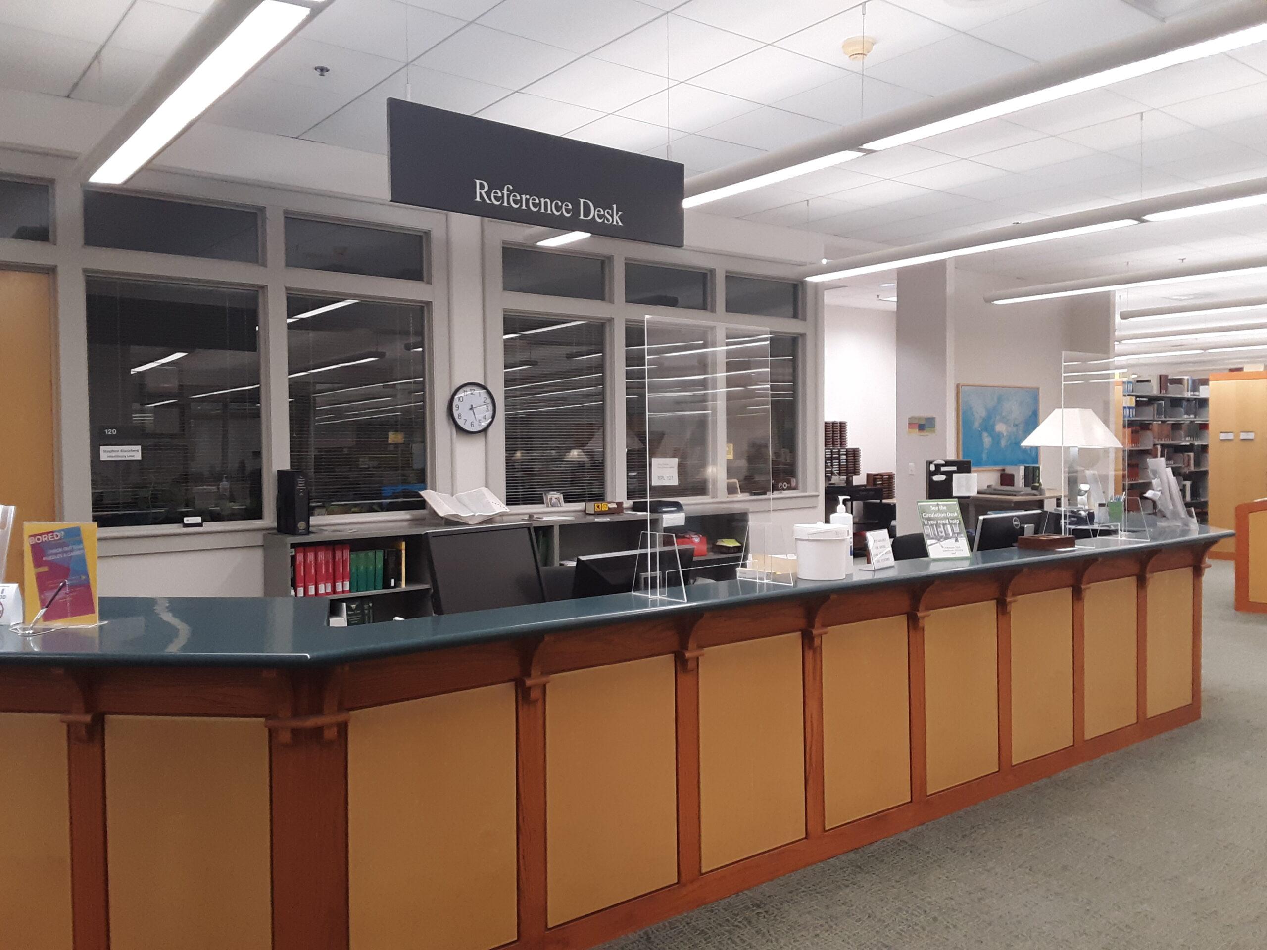 Learning Center Reference Desk