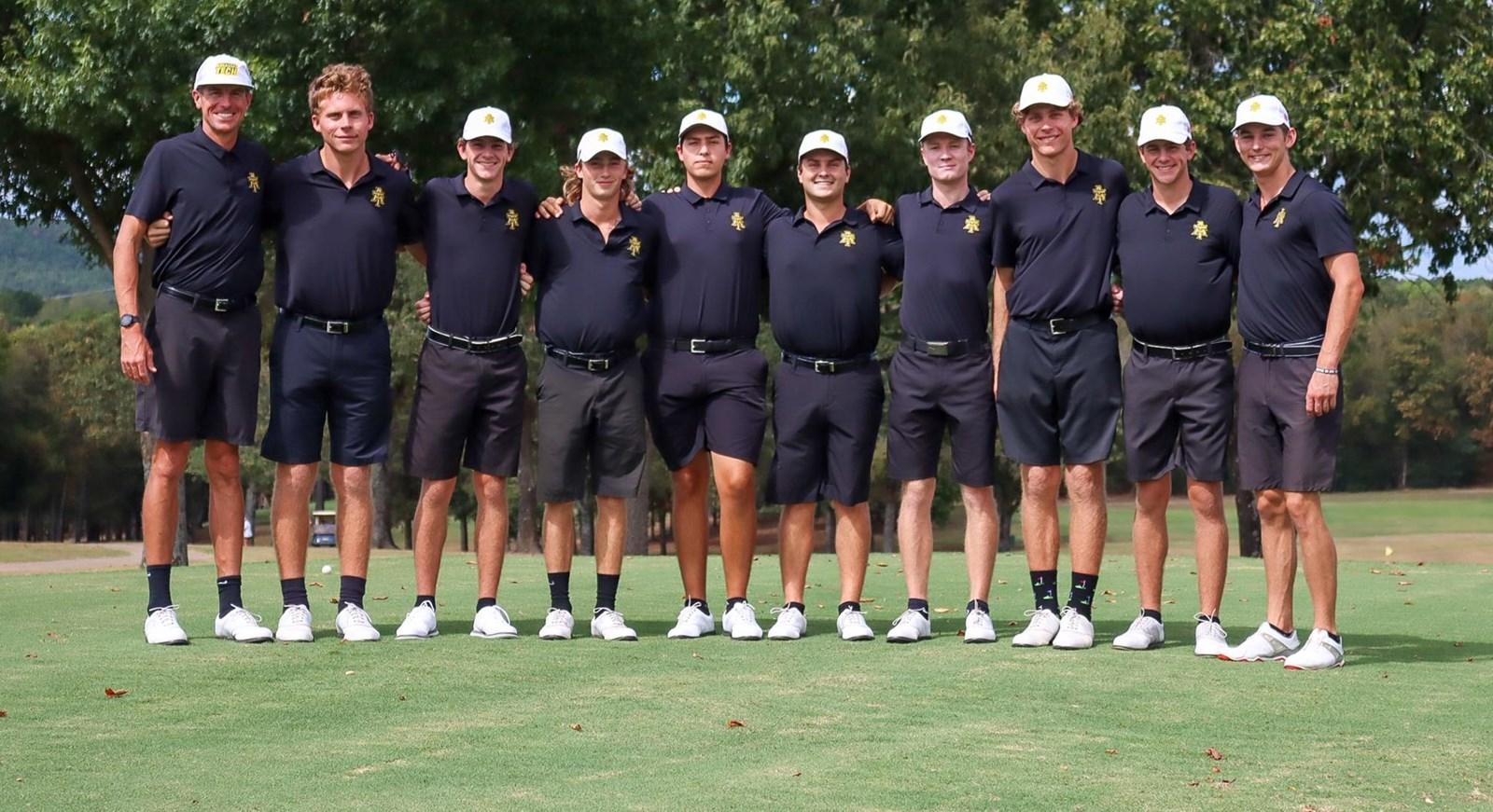 2021-2022 Wonder Boys Golf Team