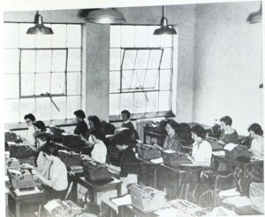 Business Class in 1955
