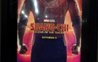 Shang-Chi Poster and Viewing Times
